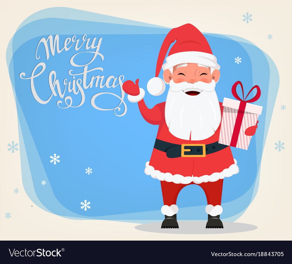 Merry christmas and a happy new year greeting