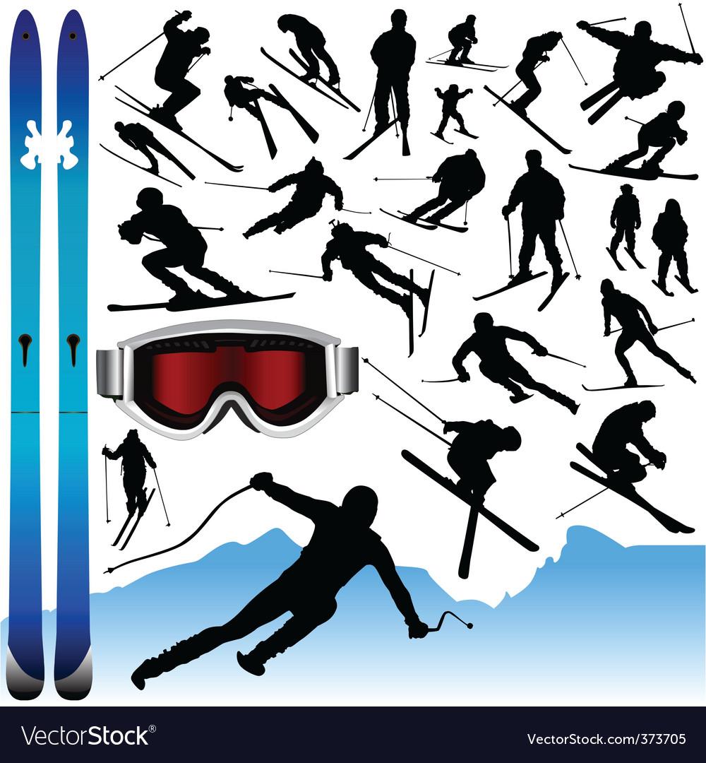 Ski design elements