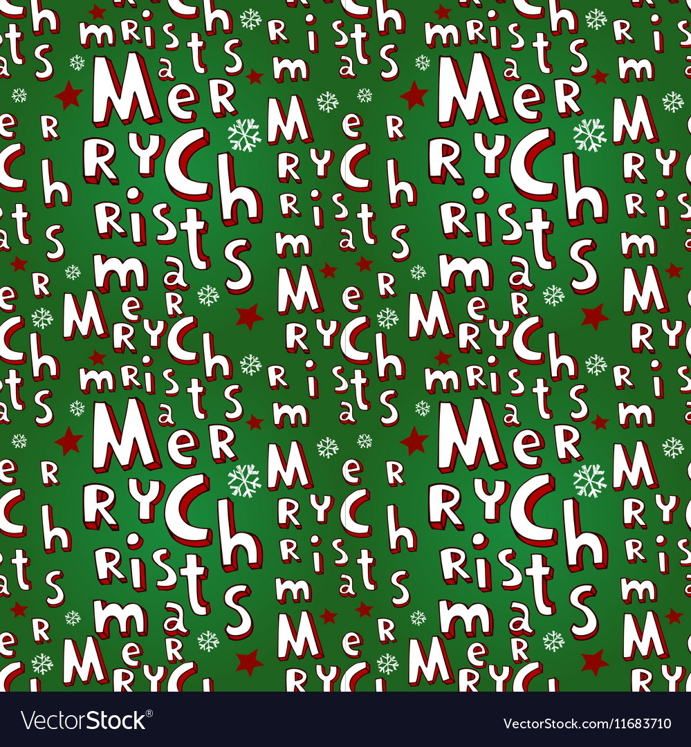 Holiday Christmas seamless background