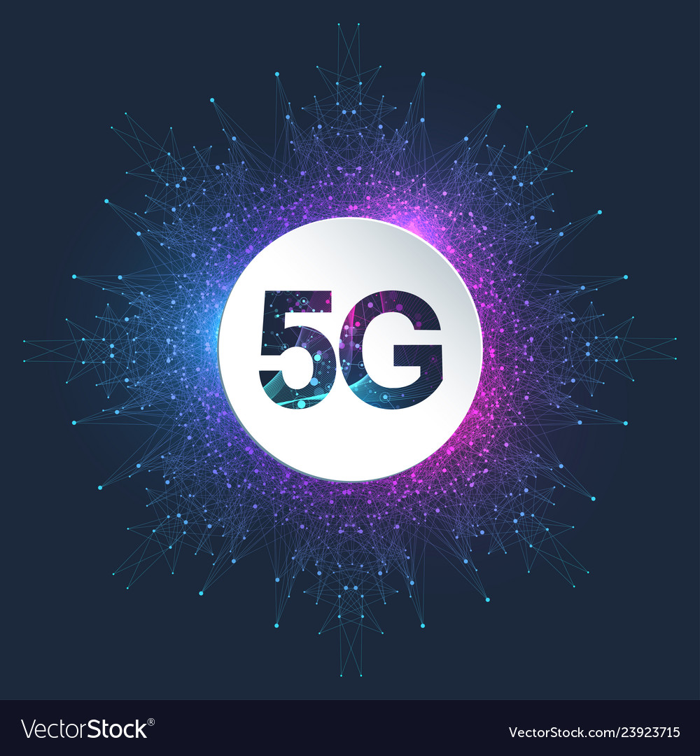 5g logo network wireless systems and internet