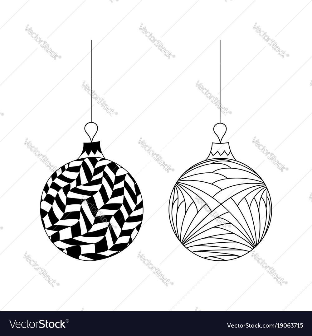 Christmas ball of thread 16