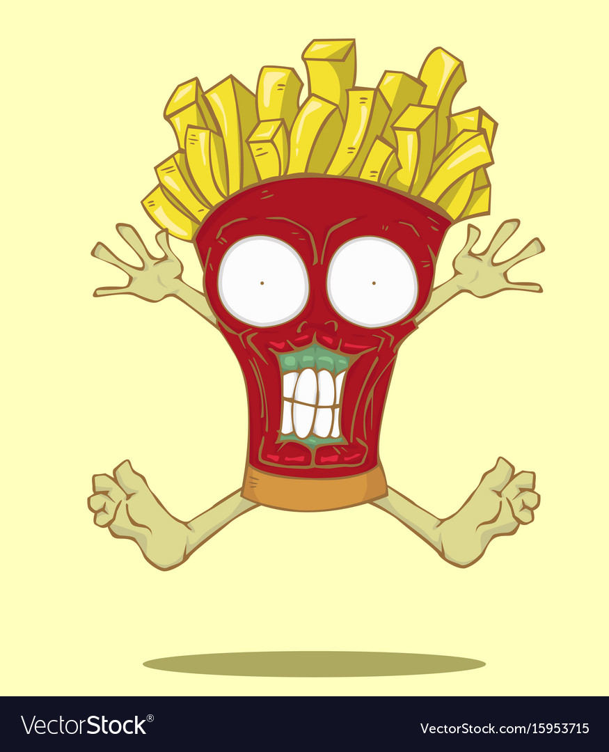 Monster french fries