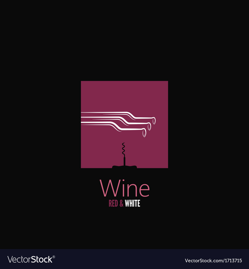 Wine bottle design background