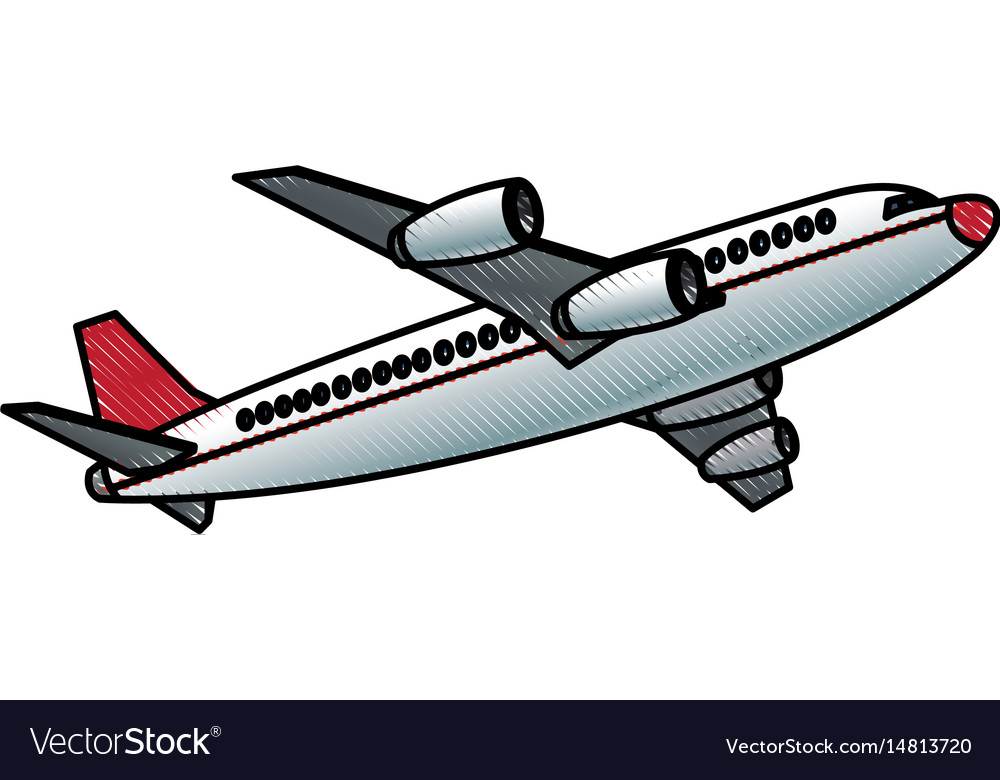 Airplane fly transport commercial travel