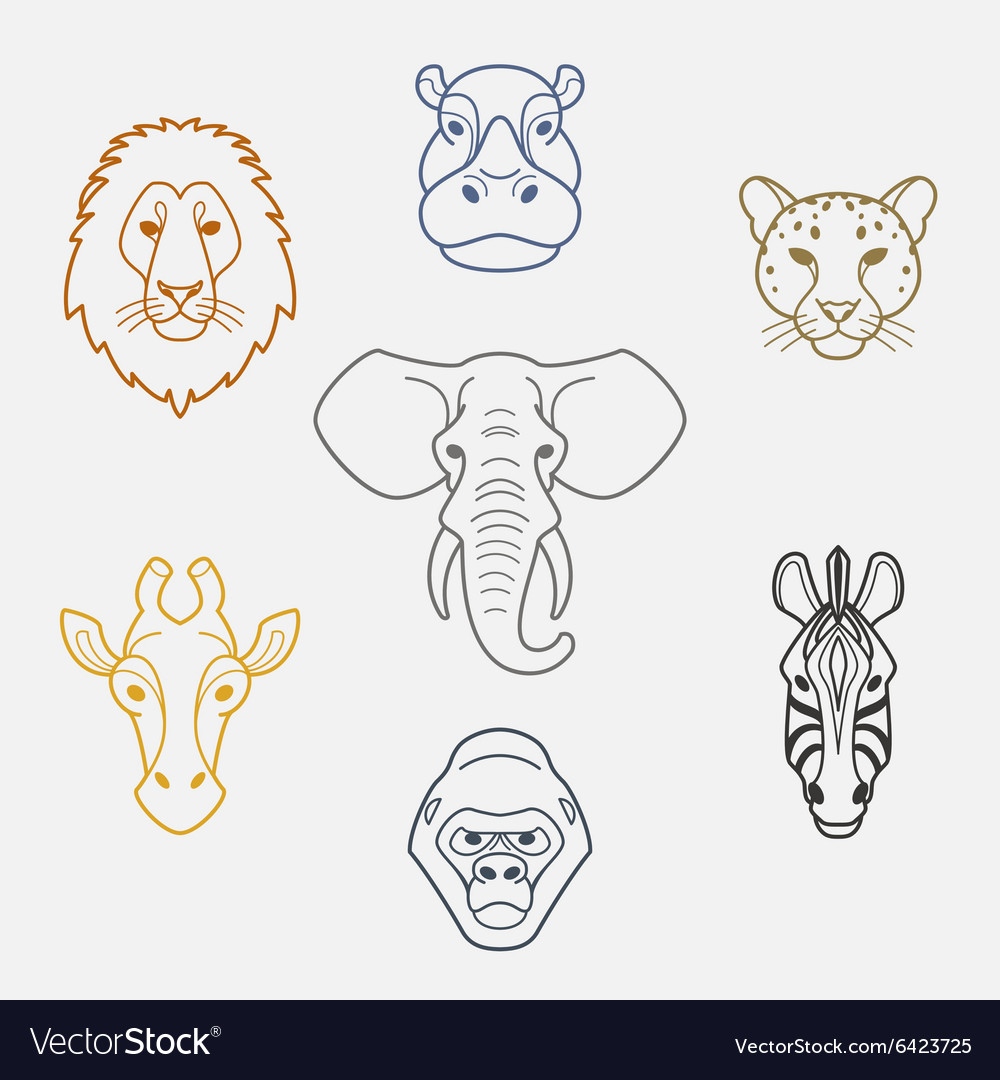 African flat animals