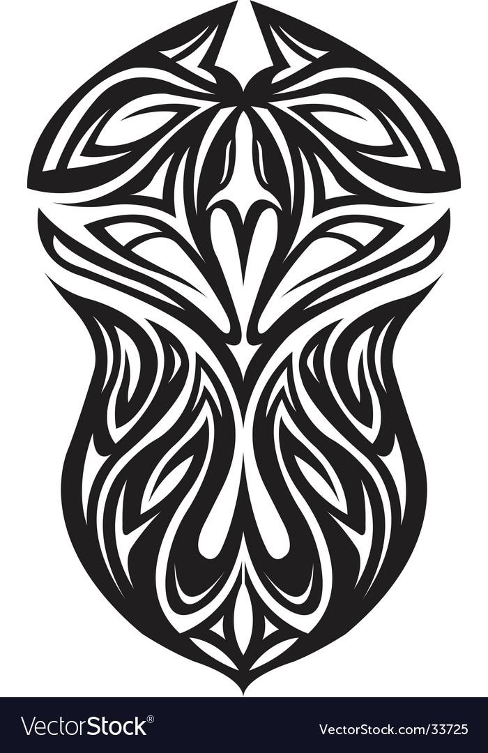Vector Phoenix Tattoo