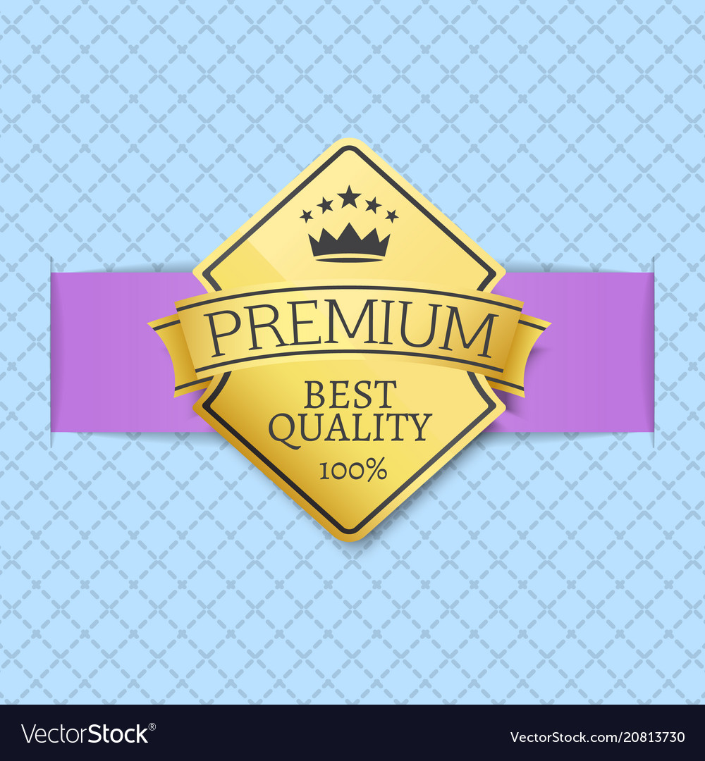 Premium quality seal certificate of best product