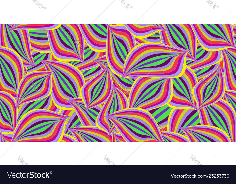 Seamless summer pattern with colorful abstract