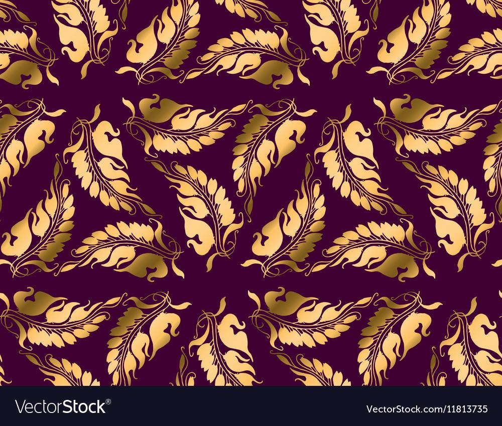 art nouveau style purple pattern royalty free vector image