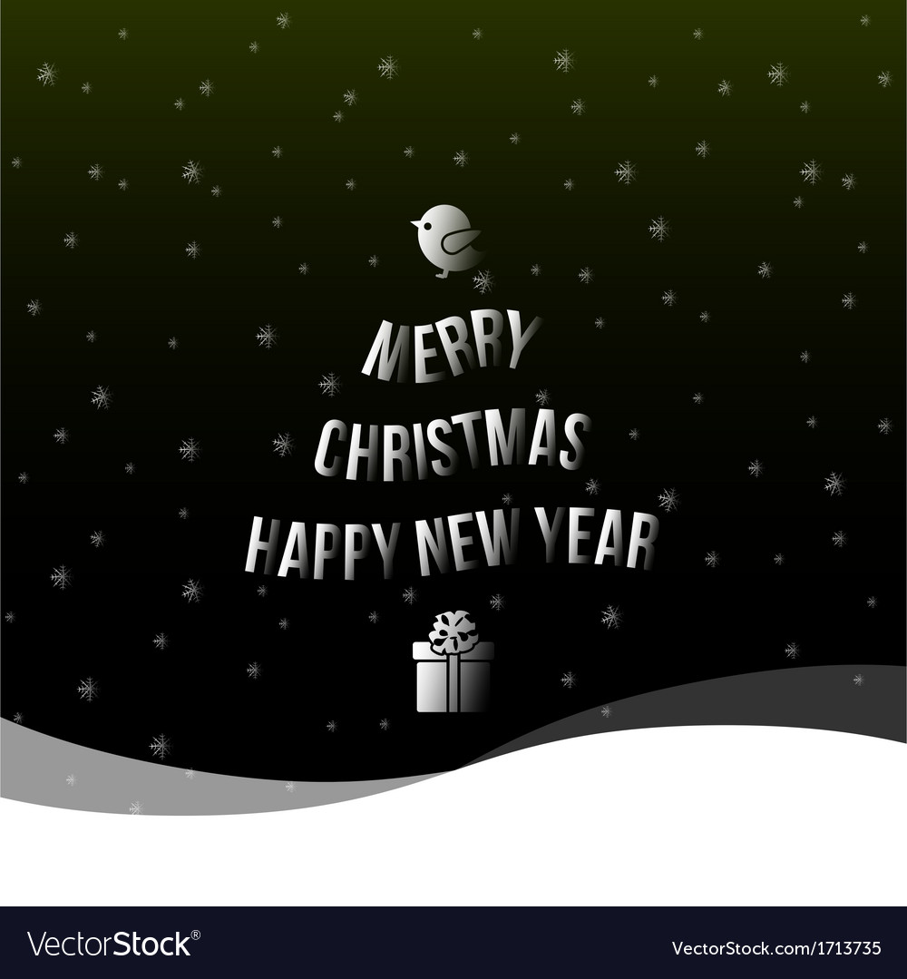Christmas happy new year background