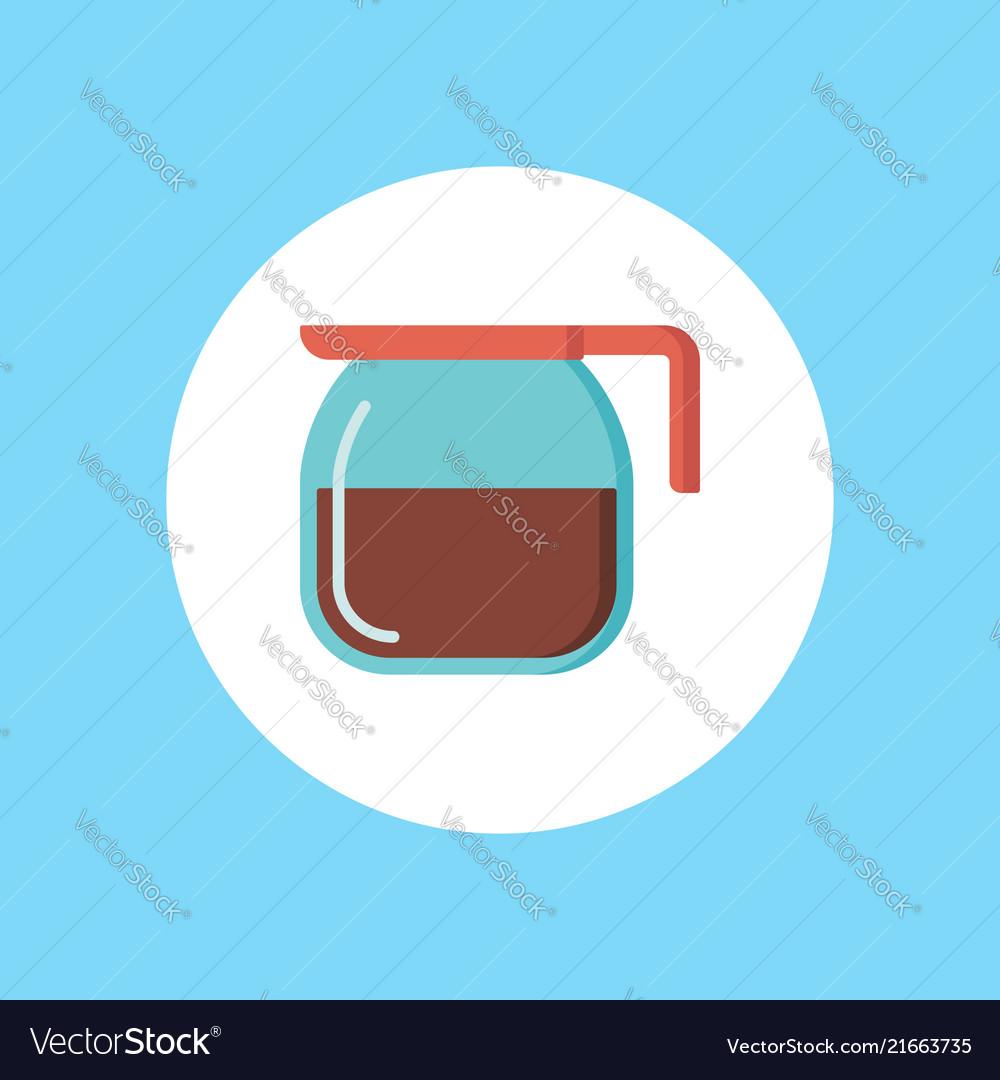 Coffee pot icon sign symbol