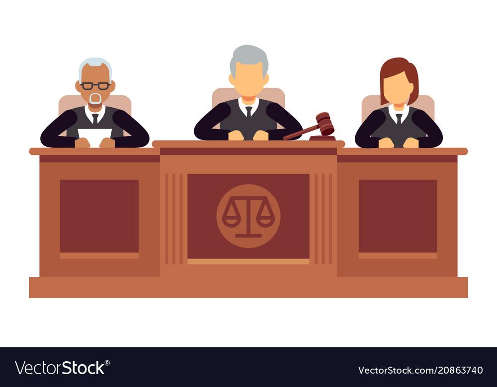 Federal supreme court with judges jurisprudence