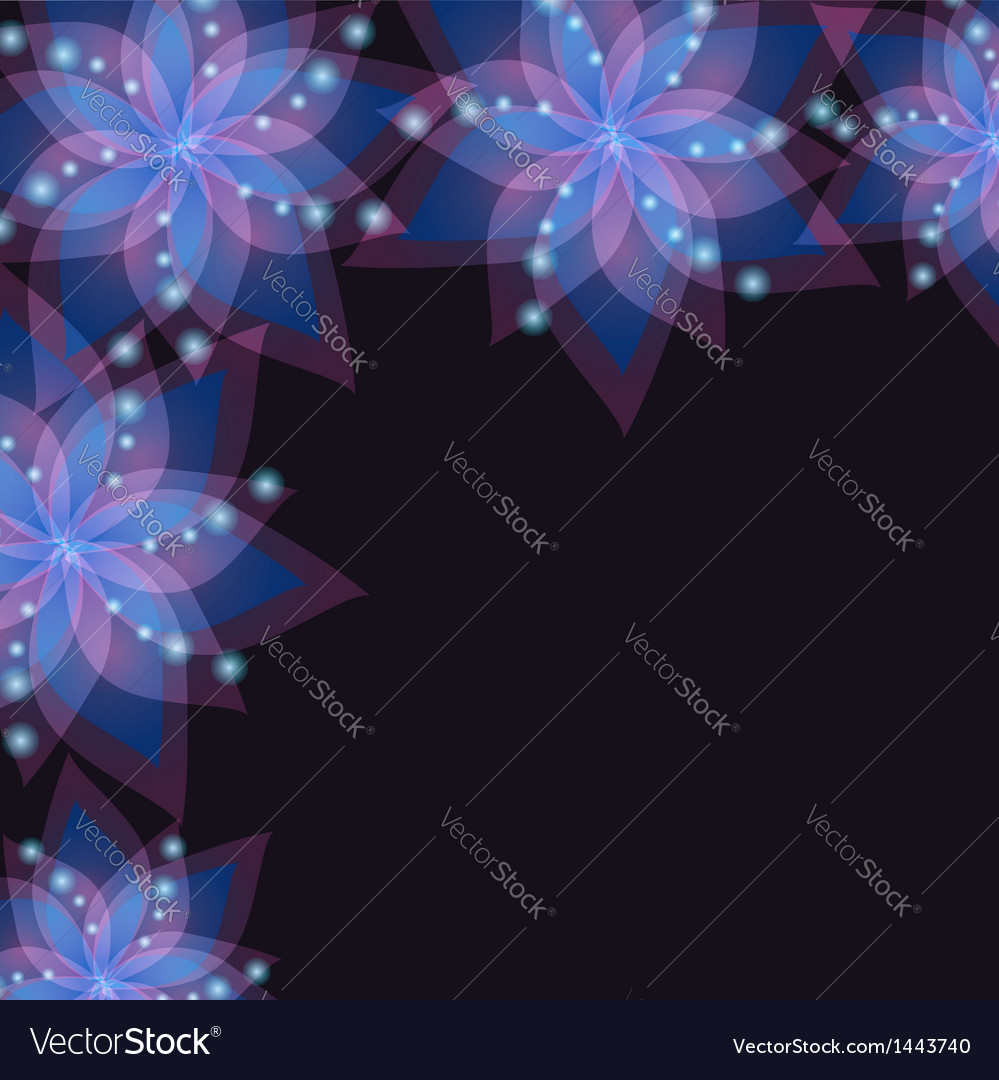 Floral lace decorative background with flower lily
