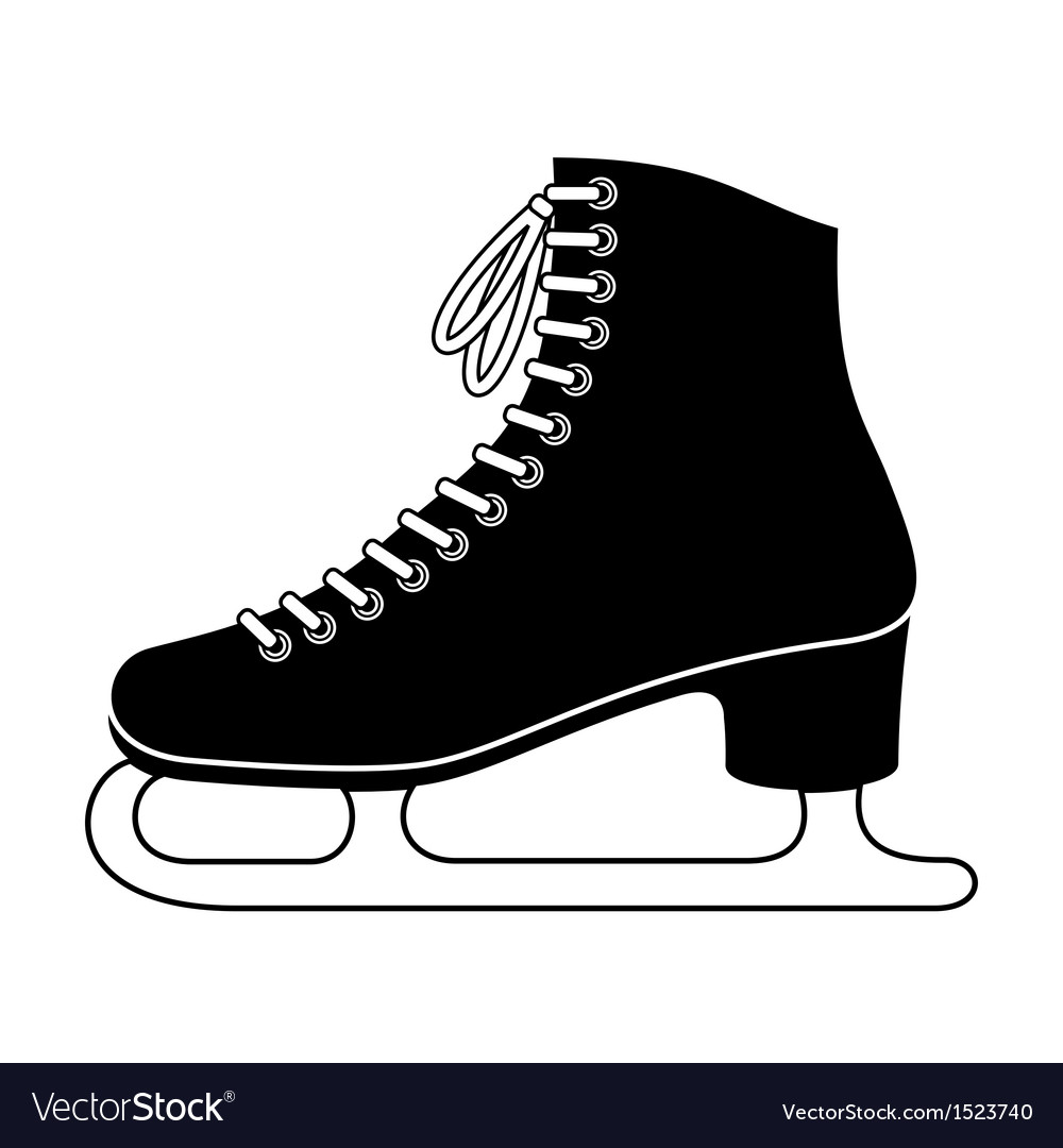 Ice Skate Royalty Free Vector Image Vectorstock