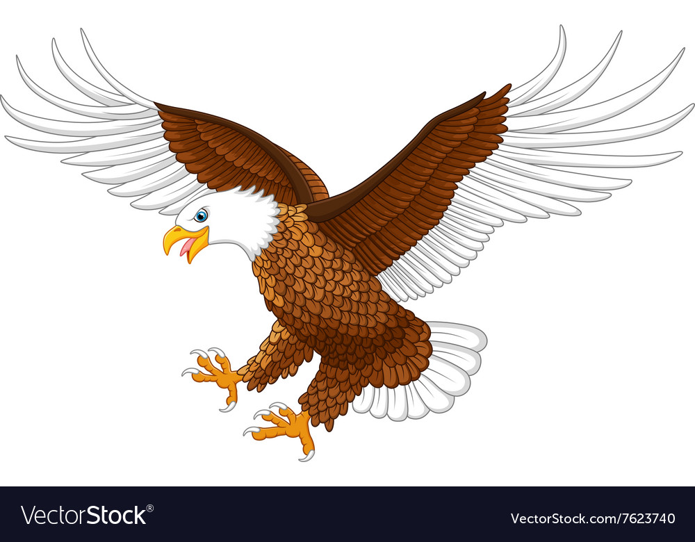 The flying eagle