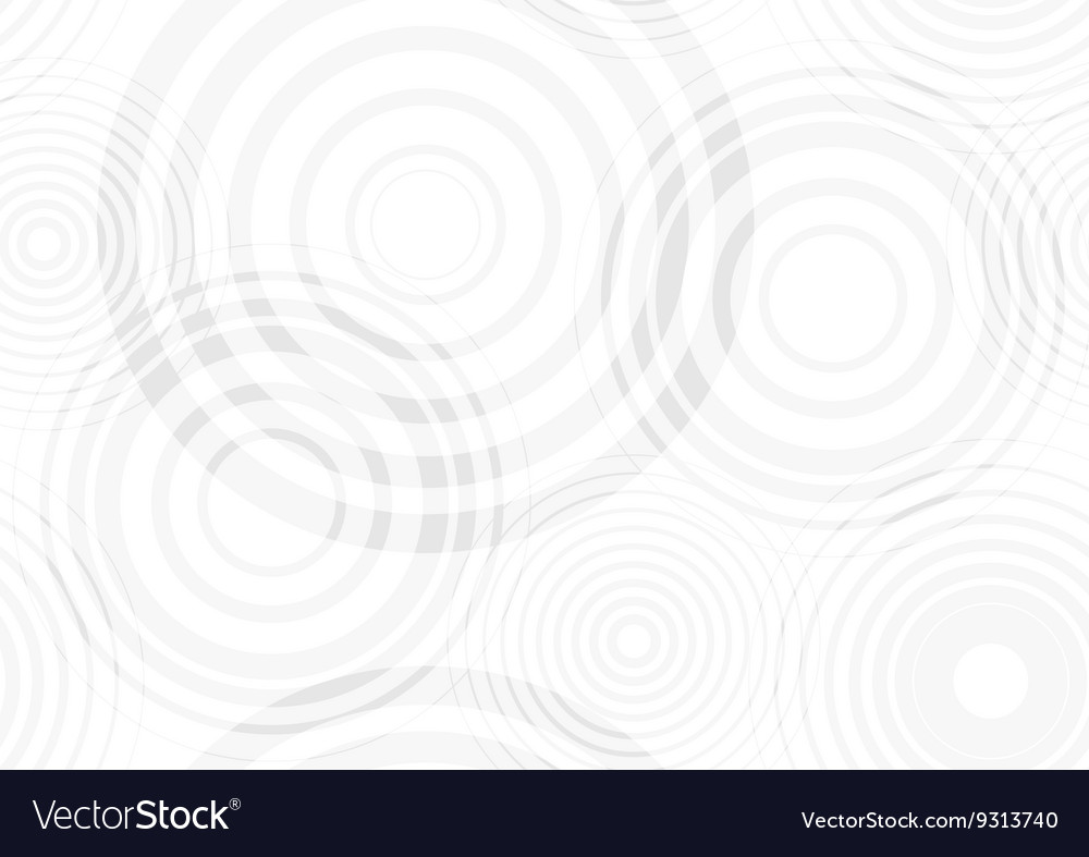 Water drop circles vector image