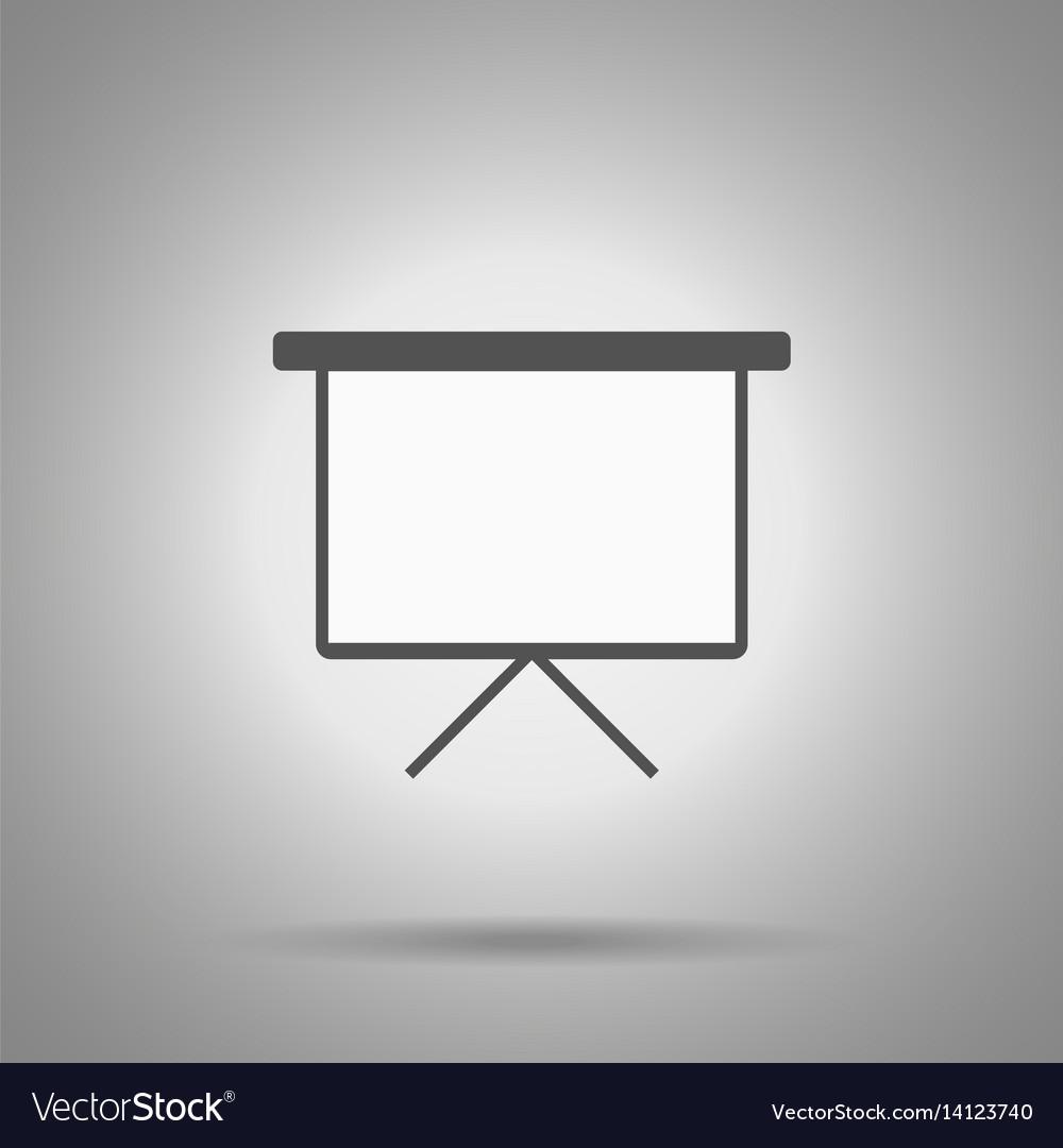 Write board icon vector image