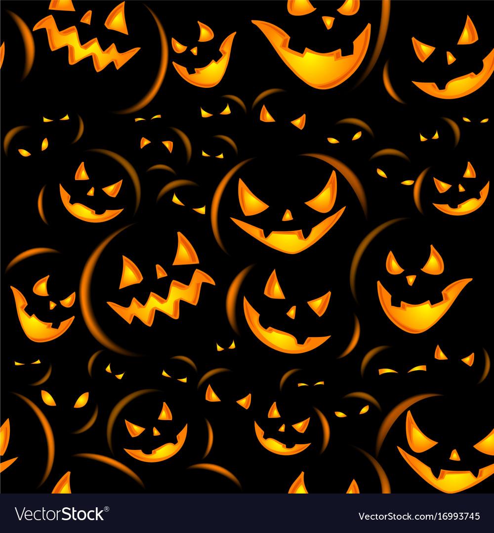 Halloween holiday seamless background