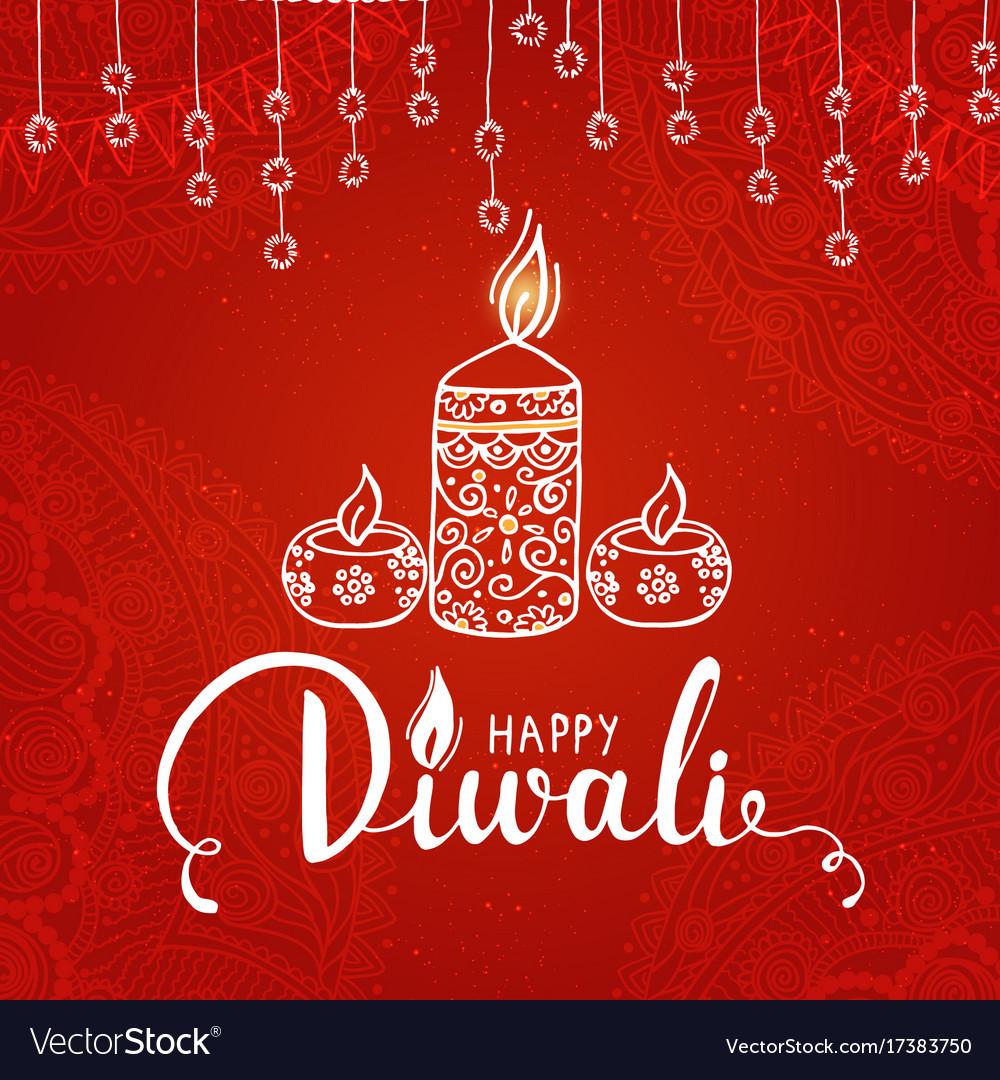 Elegant card design of traditional indian festival