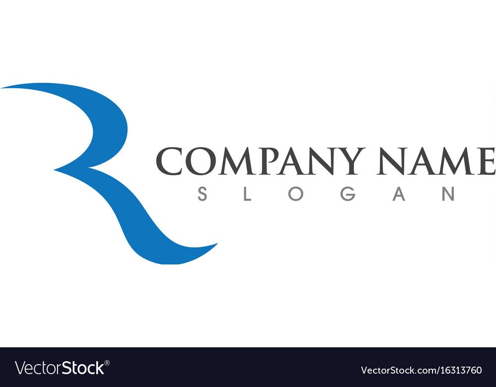 Business corporate r letter logo design royalty free vector business corporate r letter logo design vector image altavistaventures Image collections