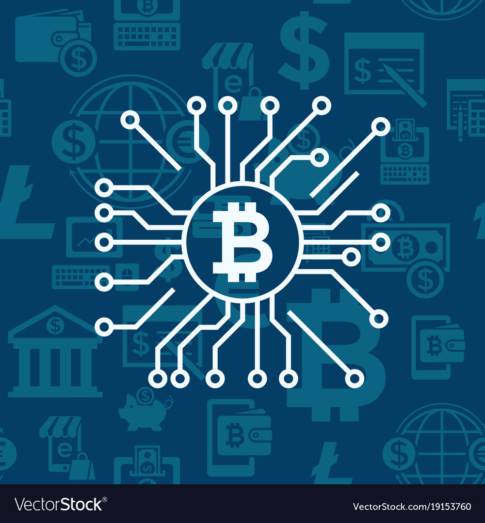 Digital bitcoin electronic cryptocurrency