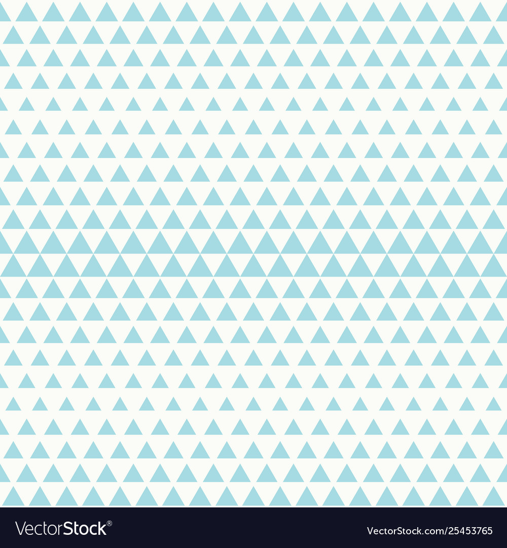 Abstract tech blue triangle pattern seamless