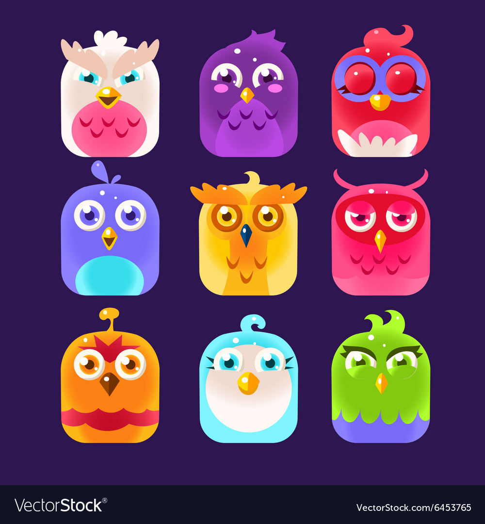Owl Icon Collection