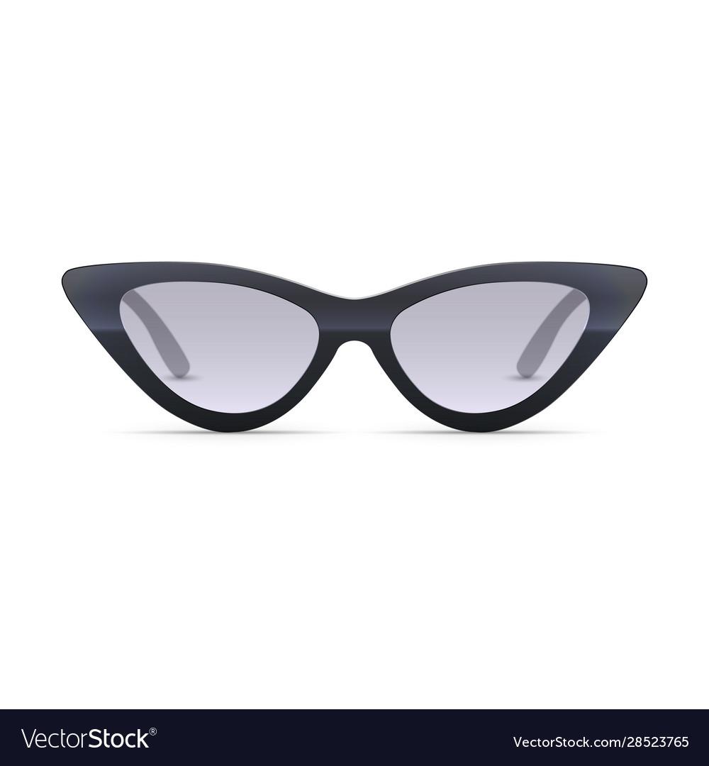 Women eyewear 3d realistic sunglasses