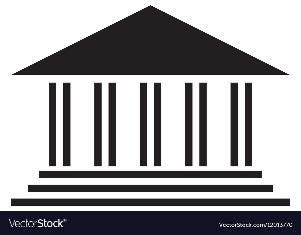 Ancient greek building icon image