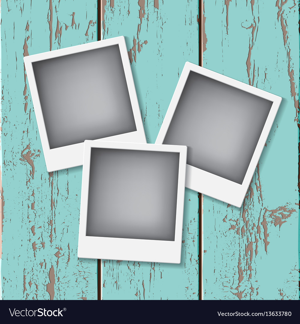 Instant vintage photos frames
