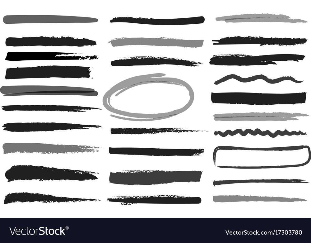 Marker highlight stripes