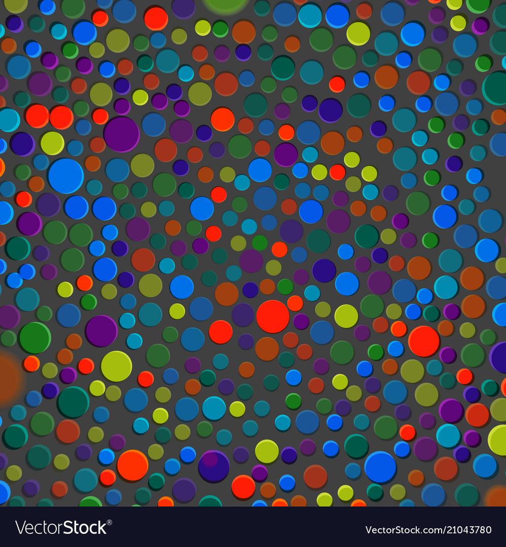 Multicolor bubbles circles dots bubbles texture
