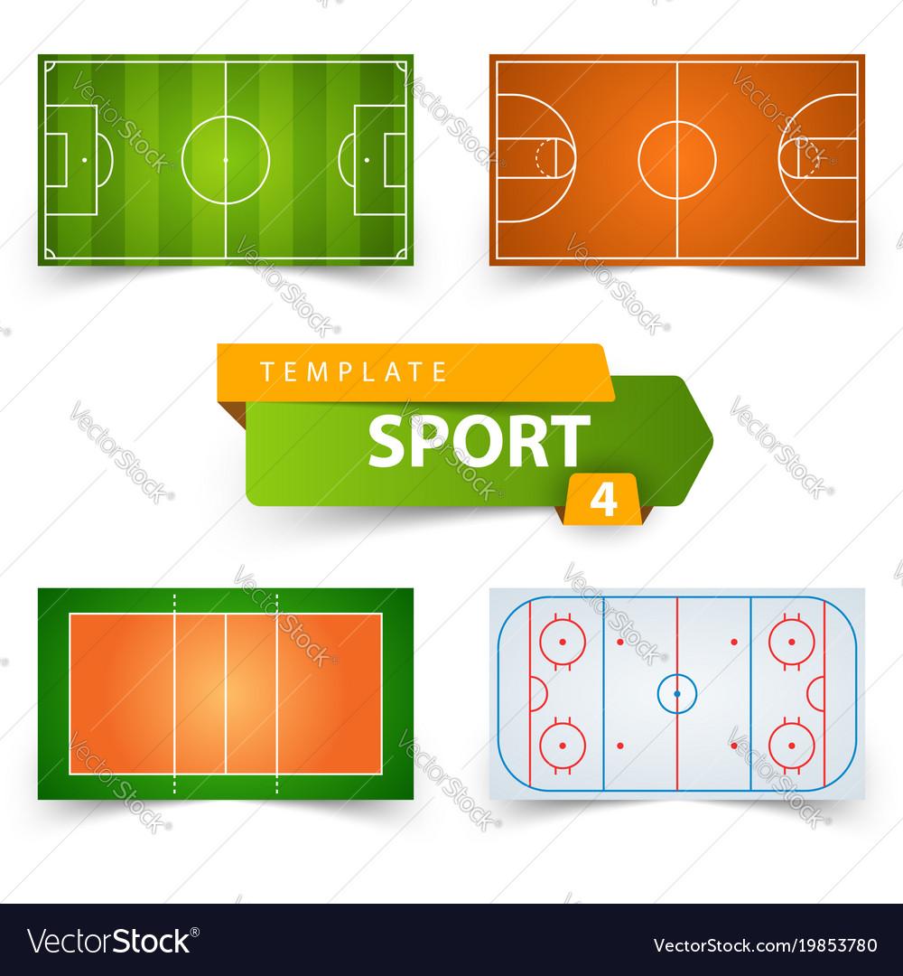Soccer football basketball volleyball hockey