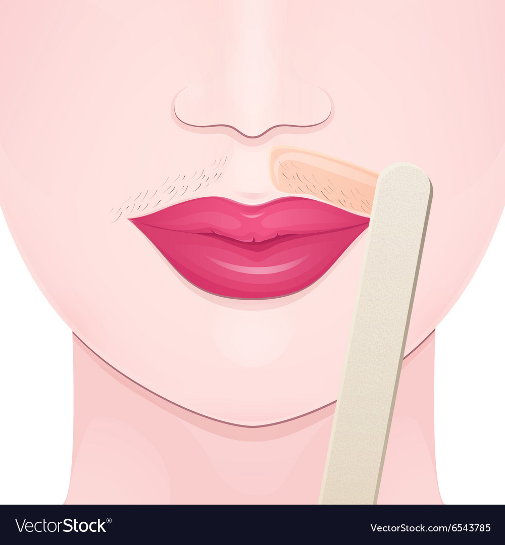 Hair Removal Wax Royalty Free Vector Image Vectorstock