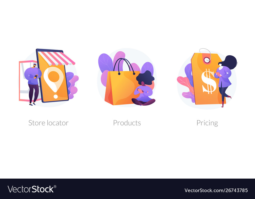 Online store concept metaphors