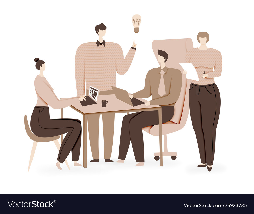 Teamwork design brainstorming creative idea