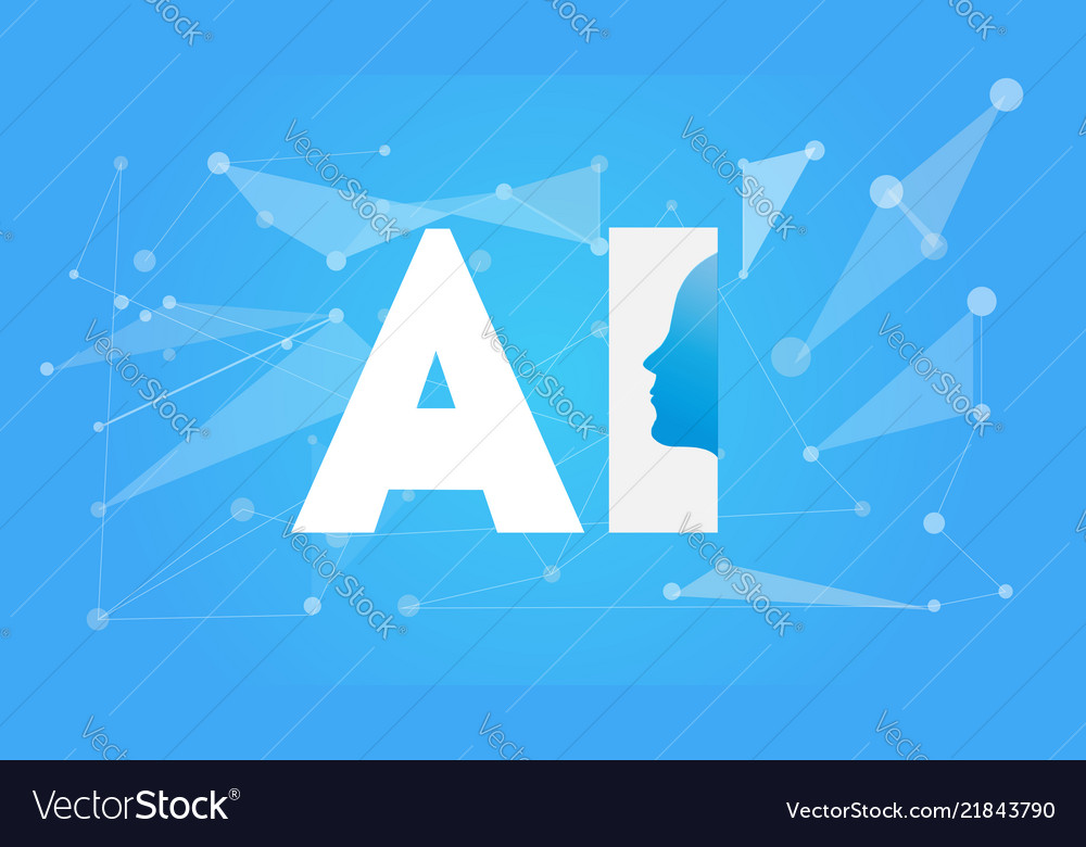 Artificial intelligence ai futuristic concept