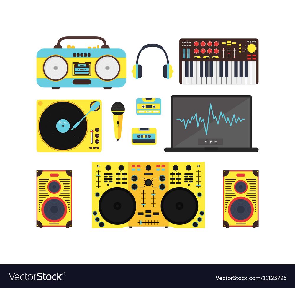Dj Audio Music Equipment Set
