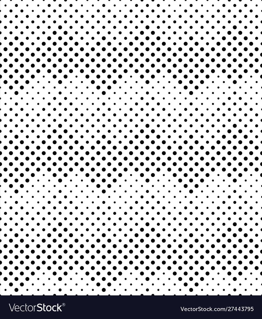 Halftone seamless pattern background design
