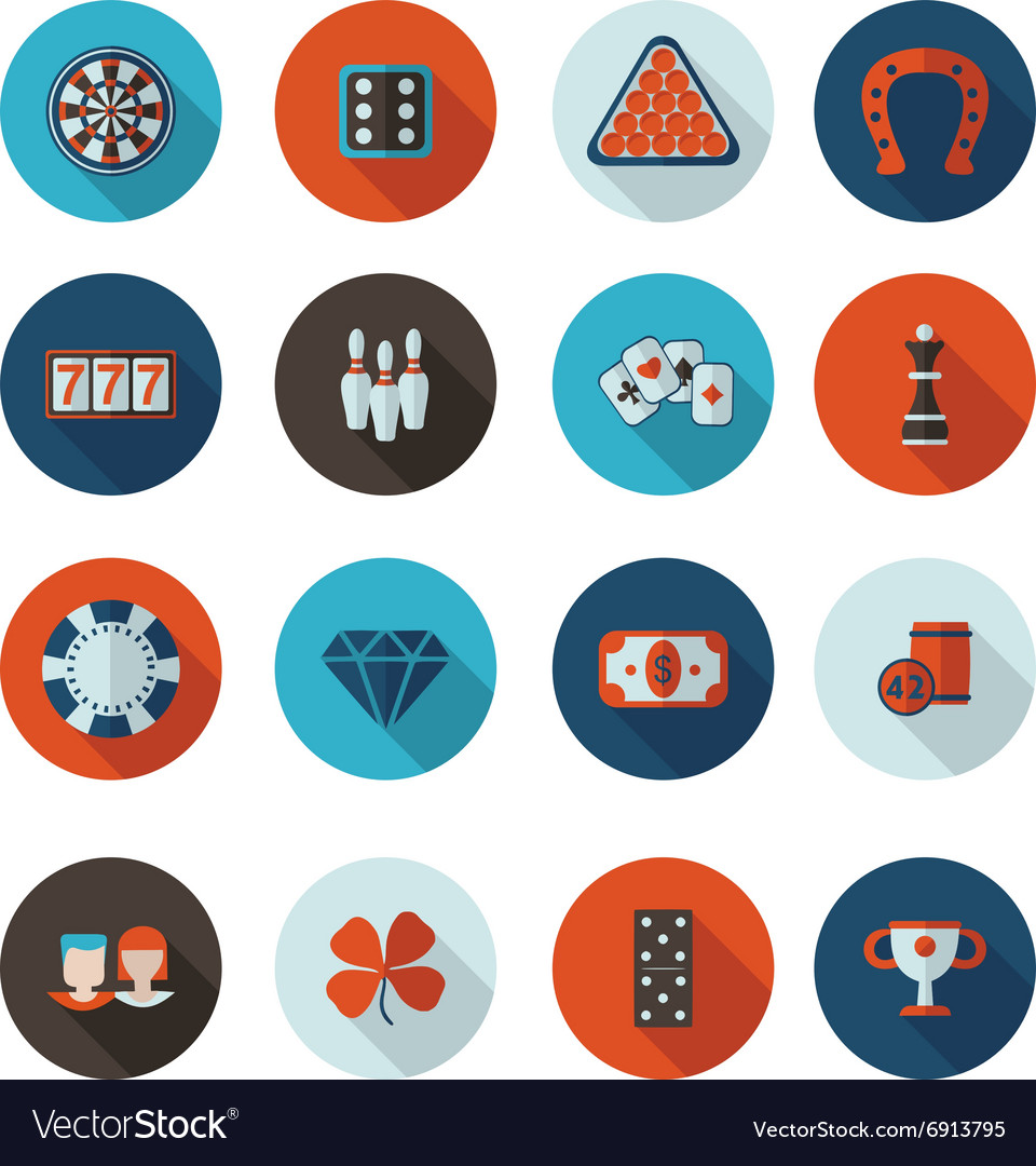 Icons gambling in format