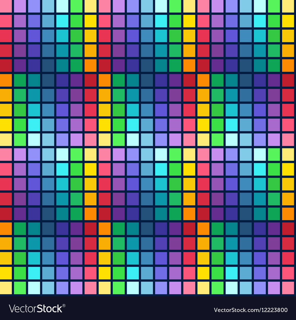 Abstract bright colorful seamless pattern rainbow