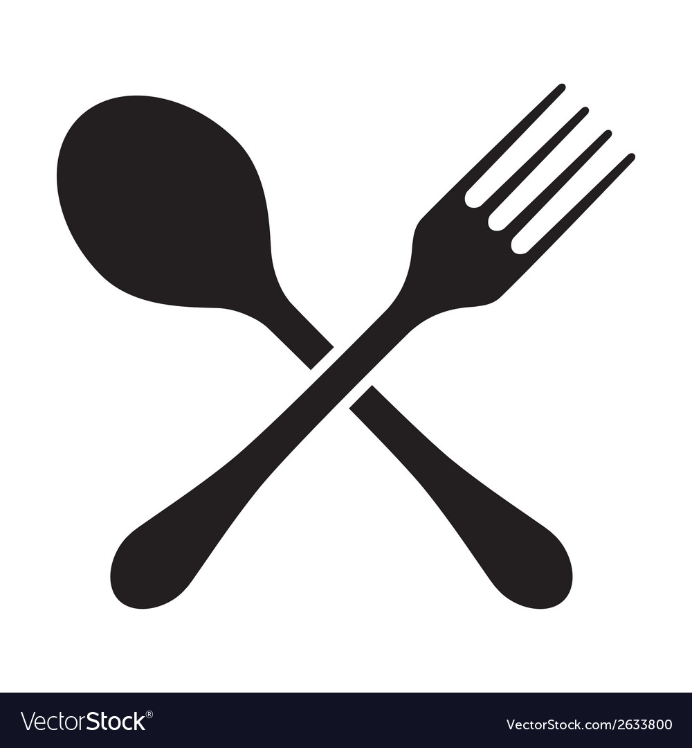 Fork And Spoon Isolated