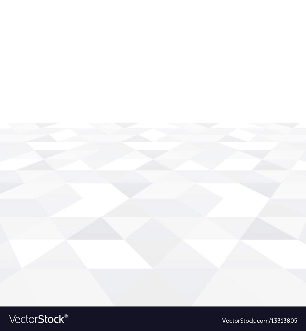 Abstract white background triangle