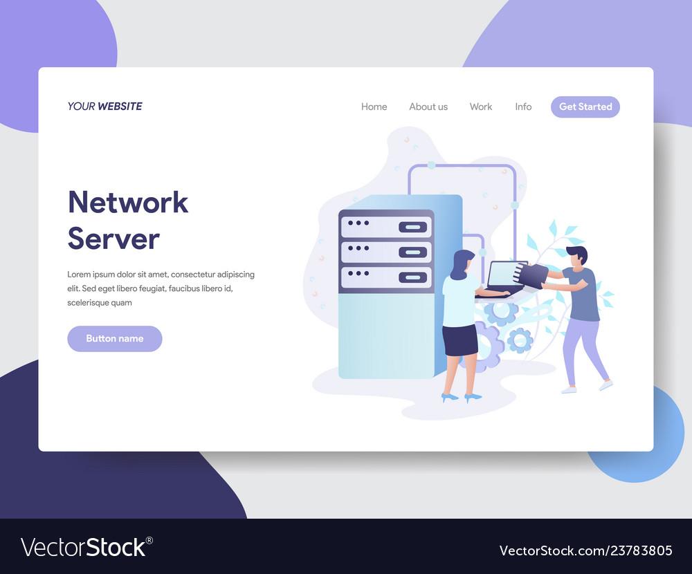Network server concept