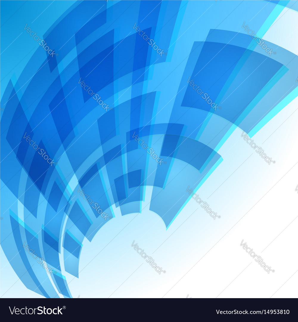 Abstract Blue Digital Background For Creative Vector Image