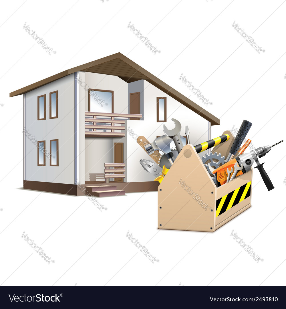 Toolbox and House