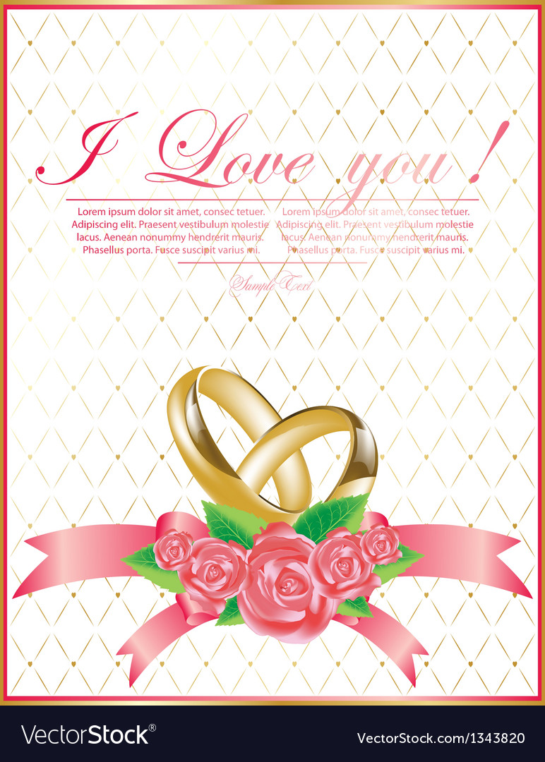 Abstract wedding background for design
