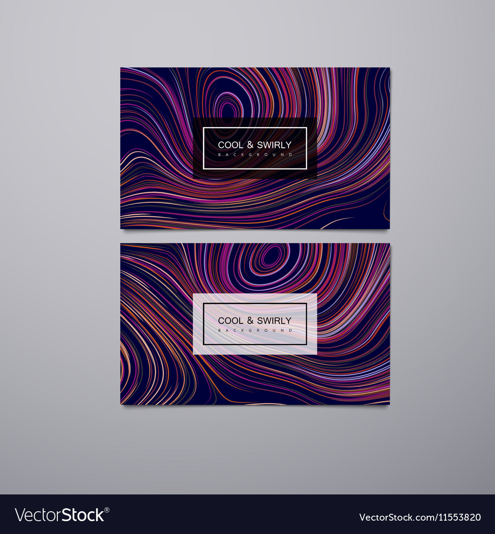 Greeting invitation or business cards design