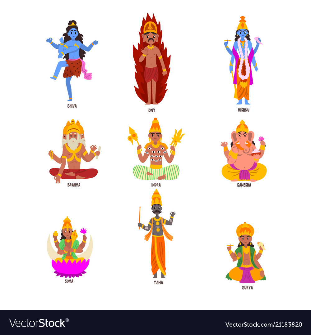 Hindu Deities - The Boxed Set