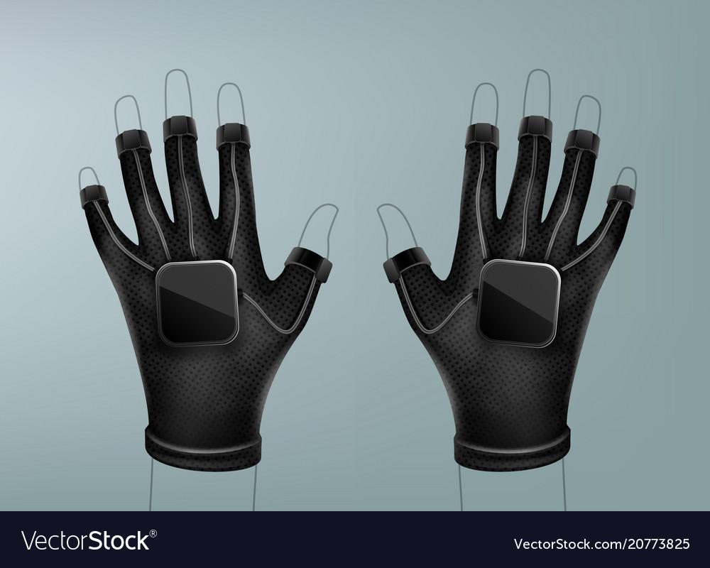 Wireless vr gloves